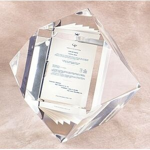 "Lucite 14 Sided Cube Embedment (2 1/2"")"